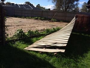 fence storm damage melbourne