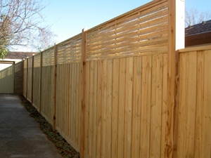 Paling Fence Five Ways. Your Fencing Contractor Specialists